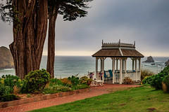 The Gazebo (julesnene) Tags: bb california canon7dmark2 canon7dmarkii canonef35mmf14lusmlens elkbeach elkcoveinnspa greenwood greenwoodstatepark juliasumangil mendocino northerncoast pacificcoasthighway pacificocean pacificcoast statepark bedandbreakfast elk julesnene travel mendocinocoast highway1