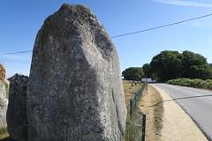 110 Carnac - Alignements de Kermario (Photos et Voyages) Tags: carnac morbihan bretagne alignements kermario menhir