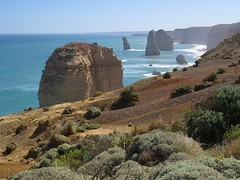 Great Ocean Road Scenery (Larry Myhre) Tags: greatoceanroad twelveapostles scenery cliffs victoria australia