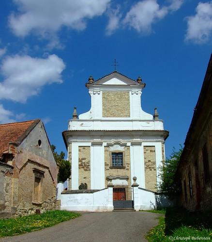 Netluk - Kirche St.Matthäus (Pnětluky - kostel sv. Matouše)