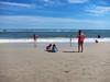 Jones Beach (Joe Shlabotnik) Tags: beach violet sarahp june2017 2017 lily jonesbeach madeleine everett 60225mm