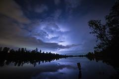 Light the sky (Train Chaser) Tags: bluegrass lightning evansville