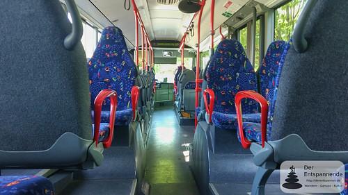 Mit dem Bus von Undenheim nach Selzen