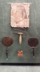 20161208_120148 (enricozanoni) Tags: ancient egypt egyptian art louvre paris statues sarcophagi musical instruments cats stele frescoes hieroglyphics