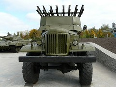 "BM-13 on ZiL-157 9 • <a style=""font-size:0.8em;"" href=""http://www.flickr.com/photos/81723459@N04/34794388653/"" target=""_blank"">View on Flickr</a>"