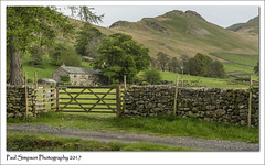 Mountain View (Paul Simpson Photography) Tags: cumbria lakedistrict paulsimpsonphotography nature eden imagesof imageof photosof photoof montains fells hills uplands viewsof stonwwall cottage countryside countrycottage stonecottage stonebuilding gate fence wall trees homes house houses may2017 sonya77