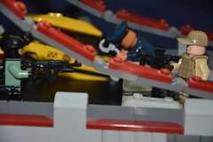 Battle For The Bridge (LegoInTheWild) Tags: moc afol minifigure lego army bridge sidan brickarms specialforces