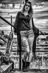 Skate Girl (davcsl) Tags: blackwhite bw biancoenero bodyart body davcsl model france gard ink nimes nîmes jesoutiensnîmes languedocroussillon monochrome monotones noiretblanc noiretblancblackwhite nb nuage occitanie southoffrance people sexy streetart urban urbanstreet urbanfreeflow europe skate skateboard longboard tatoo tatou tatouage tattoo