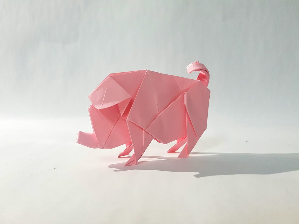 The World's Best Photos of origami and pig - Flickr Hive Mind - photo#27
