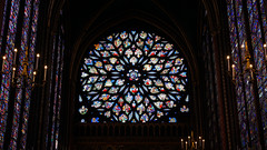 Sainte-Chapelle, rose