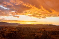 Colors of the desert (jde95tln) Tags: horseshoe bend page az sunset clouds exploring explore nature cloud colorful