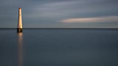 The beacon (RissaJT_23) Tags: lighthouse portphillipbay portmelbourne portmelbournefrontlight princespier stationpier canon6d canon canoneos6d canon1740mm leefilters cokinfilters landscape australianlandscape melbourne victoria beacon
