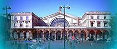 Parigi 15/04/2014: La facciata della Gare de l' Est (paolocannas) Tags: garedelest xarrondessiment parigi francia