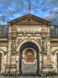 Paris  France ~ National Conservatory of Arts and Crafts ~ Conservatoire National des Arts et Metiers ~ Historic