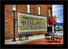 Moore & Minto  Milan MI (the Gallopping Geezer '4.8' million + views....) Tags: sign signs signage ad advertise advertisement business shop store moore minto mooreminto streetscene street old milan mi michigan smalltown southeastmichigan canon 5d3 geezer 2016