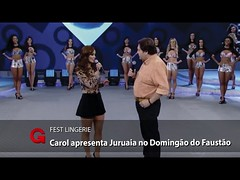 Juruaia é destaque no programa Domingão do Faustão (portalminas) Tags: juruaia é destaque no programa domingão do faustão