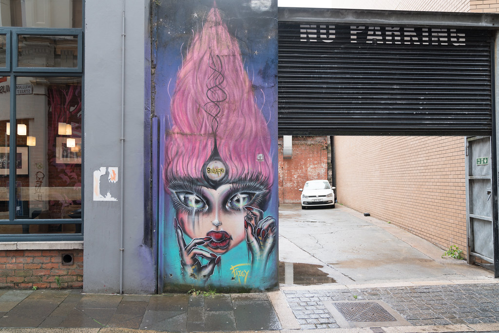 STREET ART AND GRAFFITI IN BELFAST [ANYTHING BUT THE FAMOUS MURALS]-129131