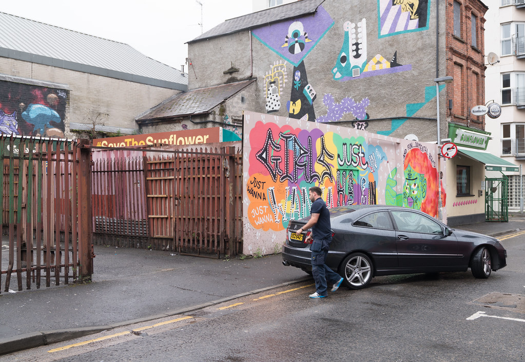 STREET ART AND GRAFFITI IN BELFAST [ANYTHING BUT THE FAMOUS MURALS]-129147