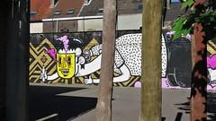 Joachim & Kymo One / Claragoed - 26 mei 2017 (Ferdinand 'Ferre' Feys) Tags: gent ghent gand belgium belgique belgië streetart artdelarue graffitiart graffiti graff urbanart urbanarte arteurbano