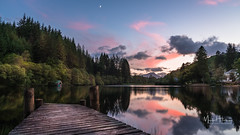Loch Ard (MarkHarrisPhotography) Tags: lochard loch sunset scotland uk landscape water reflection jetty trees