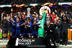 Ajax vs Manchester United (Kwmrm93) Tags: fodbal voetbal 足球 ποδ σφαιρο футбол サッカー フットボール votebol sports sport soccer nogomet jalkapallo futbol futebol fodbold football fotbal fotball fotboll fusball fussball esport deportivo canon deportiva calcio fudbal uefa europaleague final sweden solna friendsarena manchester ajax celebrating celebrate celebration