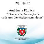 I Semana de Prevenção de Acidentes Domésticos com Idosos - 20/06/2017