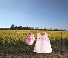 totoro baby clothing (Mamipaula y Pipocass Handmade) Tags: catdressforbabies pipocasshandmade petit pipocass denim cat dress vestido gatita vaquero pipocasscom