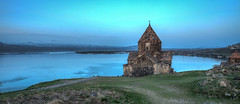 Sevanavank (Vincent Rowell) Tags: raw tonemapped hdr sunrise armenia sevanavank monastery lakesevan church sigma816mm southcaucasus2017 photoshopped