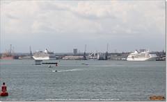 Silver Whisper, Normed Antwerpen, Seven Seas Explorer, and Elsabeth C, Southampton, June 3rd 2017 (Bristol RE) Tags: silverwhisper normedantwerpen sevenseasexplorer southampton imo 9192179 9351361 9703150 elsabethc 9730206 furongmayinowelsabethc