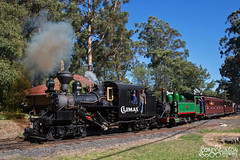 Puffing Billy Railway Climax Steam Locomotive