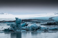 Islande, glacier, 21 (Patrick.Raymond (3M views)) Tags: islande glace glacier froid gel hiver hdr nikon nikonflickraward