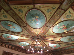 Painted ceiling, lobby of Hotel Royal, Gothenburg, Sweden (Paul McClure DC) Tags: gothenburg göteborg sweden sverige july2015 hotel painting historic architecture