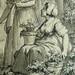 MONNET Charles - La Promenade (drawing, dessin, disegno-Louvre RF34443) - Detail 46