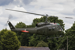 Bell UH-1H Iroquois - 5 (NickJ 1972) Tags: shuttleworth collection oldwarden fly navy airshow 2017 aviation bell uh1 huey iroquois ghuey 560 ae413