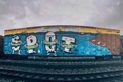 SPOT FGS (rob dunalewicz) Tags: fgs spot vscocam instagram iphone wholecar benching tags graffiti atlanta 2017