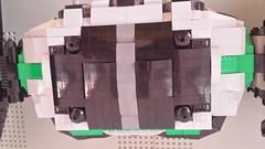 Jabba the Hutt's TIE Fighter - Roof (Evilkirk) Tags: starwars lego jabba hutt tie fighter moc