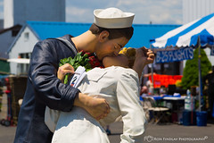 The_Kiss1 (ronfin44) Tags: wwii wwiiweekend wwiiairshow war airplane aircraft soldiers allies allied axis german ss nazi yankee lady b17 b25 b24 liberator panchito russians russian ruskie british paratrooper army navy marines airforce veterans veteran uniform medals awards troops
