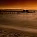 Sunset over the Naples Pier, Naples, Florida