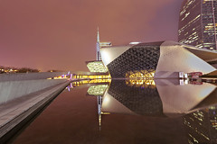 Guangzhou Opera House (lfeng1014) Tags: guangzhouoperahouse guangzhou operahouse reflection nightshot longexposure 45seconds canon5dmarkiii ef1635mmf28liiusm landmark landscape travel lifeng china