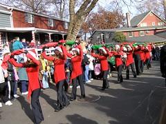 09 Color Guard (megatti) Tags: christmas colorguard lahaska marchingband pa parade peddlersvillage pennsylvania