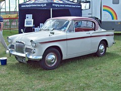 737 Sunbeam Rapier III Sports Saloon (1959) (robertknight16) Tags: sunbeam british 1950s rapier rootes silverstone 3062nx