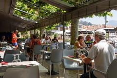 Hôtel LE GOLFE Cassis - restaurant terrasse