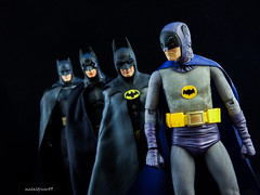 A Legend and a Batman, Forever (metaldriver89) Tags: adamwest adam west batman66 batman1966 rip ripadamwest batman anniversary action figure figures neca 7 inch actionfigure shadows dc movie comics toys custom cape acba display hot batmanneca blackandwhite brucewayne bruce wayne articulatedcomicbookart articulated comic book art tonymei tony mei customcape toy toyphotography dcmultiverse darkknightcollection people 1989 batman1989 timburton tim burton michael keaton 25th mezco one12 collective armor armored armoredbatman ben affleck batfleck batmanvsuperman v vs superman