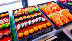 มุมอาหารญ๊่ปุ่น ในไลน์บุฟเฟ่ต์ ร้านชาบู Shabu for U สุวินทวงศ์
