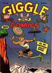 Giggle Comics 18 (Michael Vance1) Tags: art adventure artist anthology comics comicbooks cartoonist funnyanimals fantasy funny humor goldenage