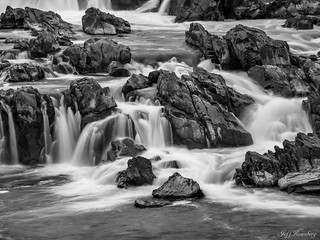 Black Rocks And White Water
