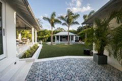 Incredible Residential Landscape by ForeverLawn of Tampa Bay (ForeverLawn) Tags: flcontest2017 foreverlawnoftampabay dupontforeverlawnselectel landscape backyards poolhouse syntheticturf artificialgrass residential
