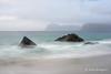 Myrland 1 (Hanna Blomqvist) Tags: norway beach sand lofoten waves myrland hills rocks clouds sea