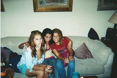 Party Girls, 2005 (STUDIOZ7) Tags: women girls smoking smoker cigarette drinking partying fleetwoodmac 2000s livingroom
