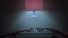 Collider (I am winter) Tags: neon colors beautiful arms people love dark 35mm film